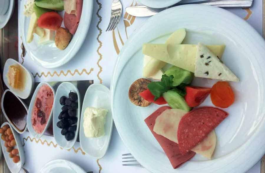 Malta köşkü Kahvaltı