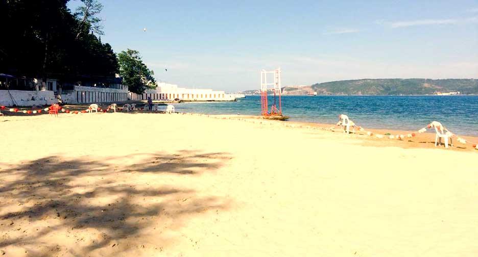 Sarıyer Altın Kum Kadınalar Plajı