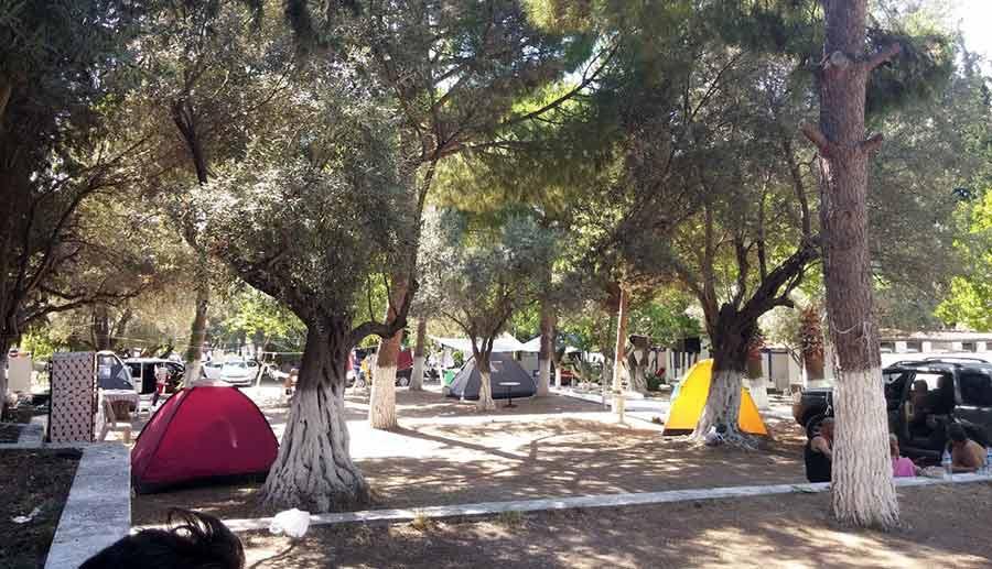Kuşadası Kamp Alanları | Çadır ve Karavan Kampı İçin En Uygun Yerler