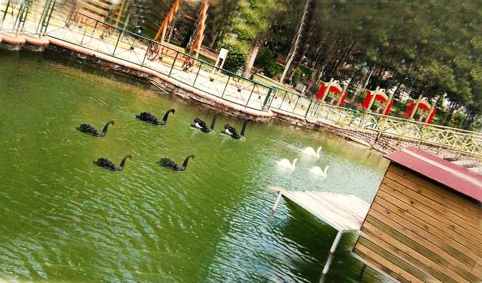 Uşak gezilecek yerler Huzru Park